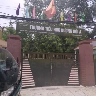 Trường Tiểu học công lập quận Hà Đông, Dương Nội A (Ảnh: Cốc Cốc)