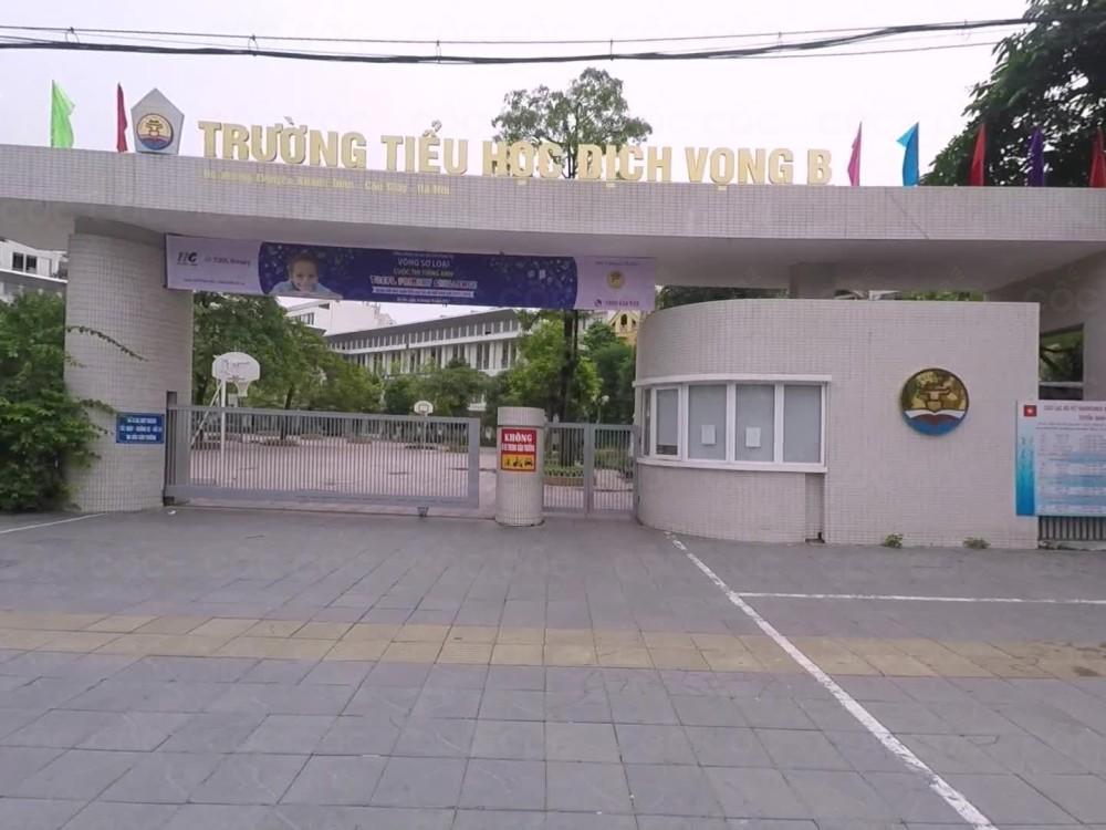 Trường Tiểu học Dịch Vọng B, Cầu Giấy (Ảnh: Cốc Cốc)