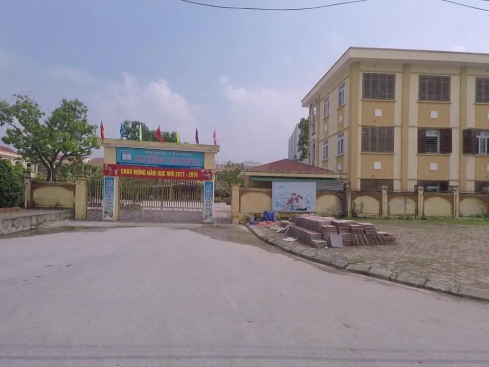 Trường Tiểu học công lập quận Hà Đông - Kiến Hưng (Ảnh: Cốc Cốc)