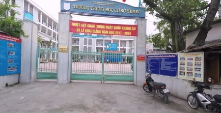Yên Sở - Trường THCS công lập quận Hoàng Mai - Hà Nội (Ảnh: Cốc Cốc)