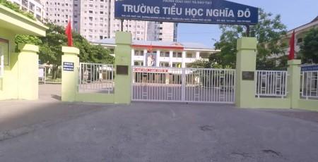 Trường Tiểu học công lập quận Cầu Giấy Nghĩa Đô (Ảnh: Cốc Cốc)
