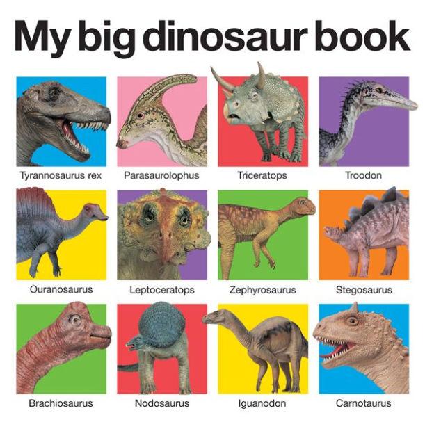 Những cuốn sách về khủng long khiến trẻ em mê tít (Ảnh: Barnes & Noble)