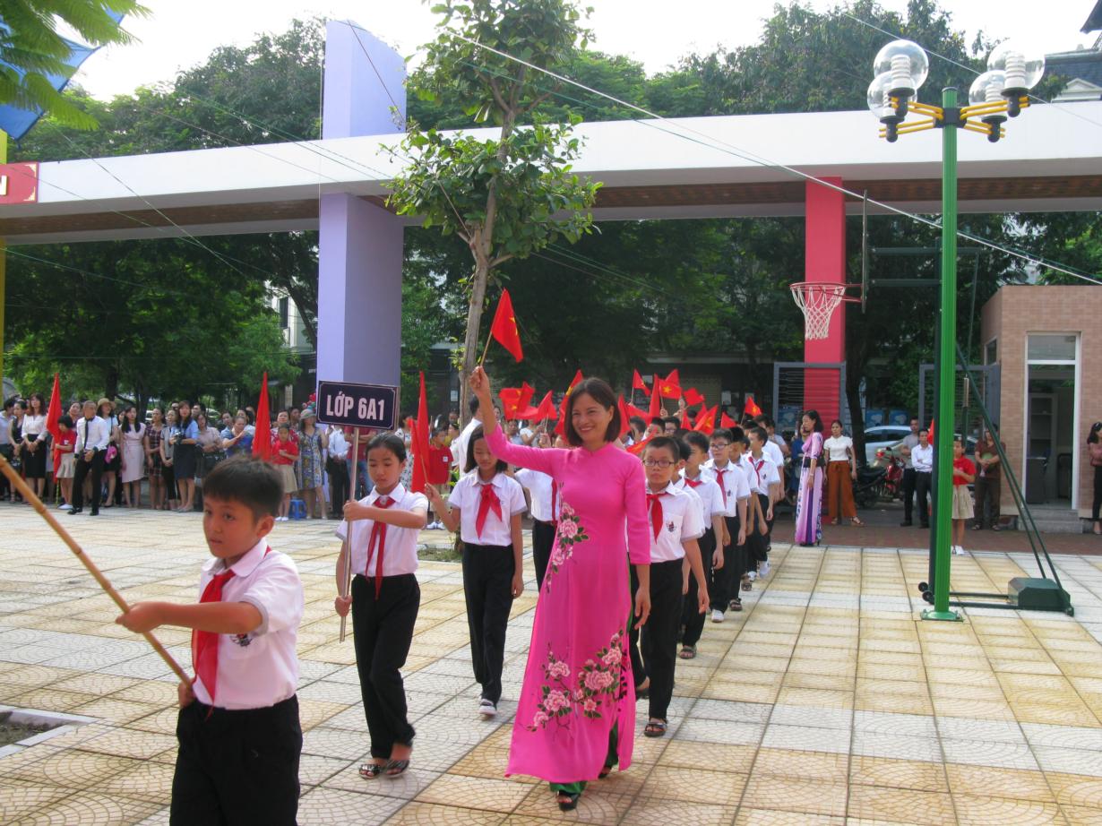 Mỹ Đình 1 - Trường THCS công lập quận Nam Từ Liêm, Hà Nội (Ảnh: website nhà trường)