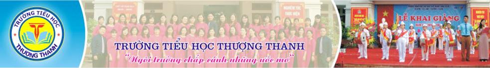 Thượng Thanh - Tiểu học công lập quận Long Biên - Hà Nội (Ảnh: website nhà trường)