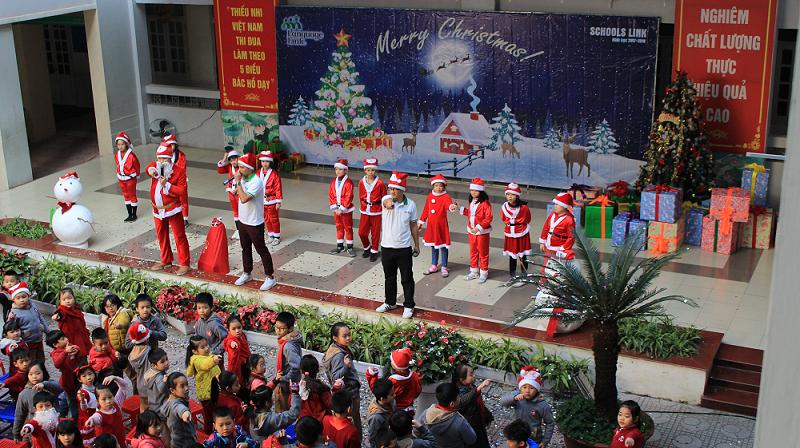 Ái Mộ A - Tiểu học công lập quận Long Biên, Hà Nội (Ảnh: website nhà trường)