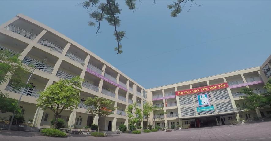 Đức Giang - trường THCS công lập quận Long Biên, Hà Nội (Ảnh: Phòng Giáo Dục và Đào Tạo quận Long Biên)