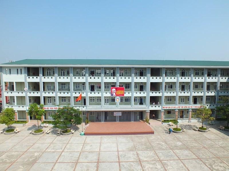 Gia Thuỵ - Trường THCS công lập quận Long Biên, Hà Nội (Ảnh: Phòng Giáo Dục và Đào Tạo quận Long Biên)