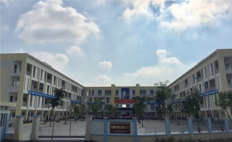 Ngoc Thuy - Trường THCS công lập quận Long Biên, Hà Nội (Ảnh: website nhà trường)
