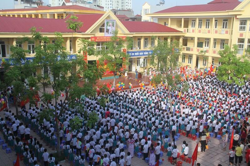 Ngô Gia Tự - Tiểu học công lập quận Long Biên, Hà Nội (Ảnh: website nhà trường)