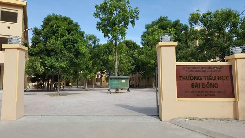 Sài Đồng - Tiểu học công lập quận Long Biên - Hà Nội (Ảnh: website nhà trường)