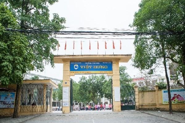 Việt Hưng - Tiểu học công lập quận Long Biên, Hà Nội (Ảnh: website nhà trường)