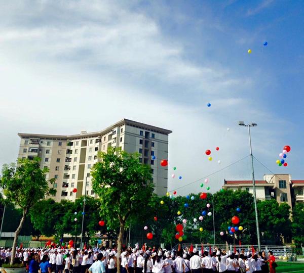 Đô Thị Việt Hưng - Trường THCS công lập quận Long Biên, Hà Nội (Ảnh: Phòng Giáo Dục và Đào Tạo quận Long Biên)