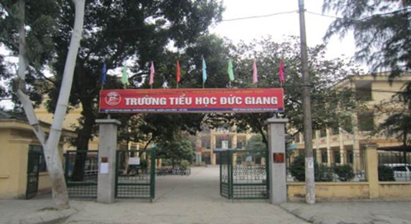 Đức Giang - Tiểu học công lập quận Long Biên, Hà Nội (Ảnh: website nhà trường)
