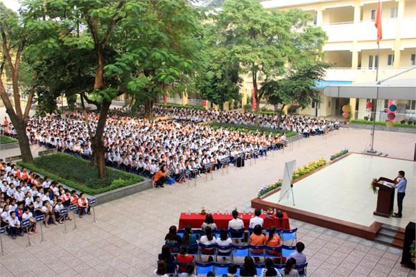 Ngọc Thuỵ - Tiểu học công lập quận Long Biên - Hà Nội (Ảnh: website nhà trường)