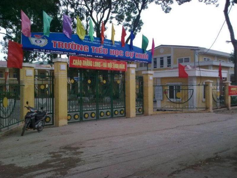 Cự Khối - Tiểu học công lập quận Long Biên, Hà Nội (Ảnh: Realtimes)