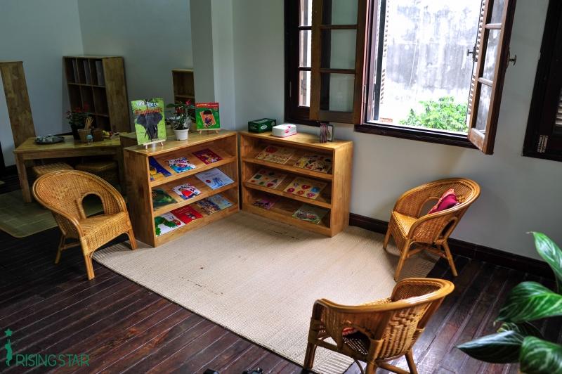 Cơ sở vật chất trường mầm non song ngữ Rising Star, quận Ba Đình, Hà Nội (Ảnh: website trường)