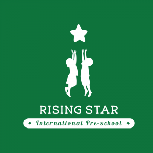 Logo trường mầm non song ngữ Rising Star, quận Ba Đình, Hà Nội (Ảnh: website trường)