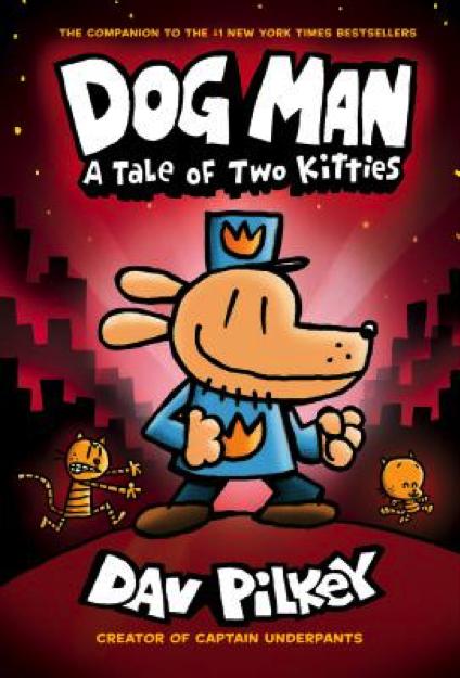 Dog Man Book Cover - Popular Kids Books