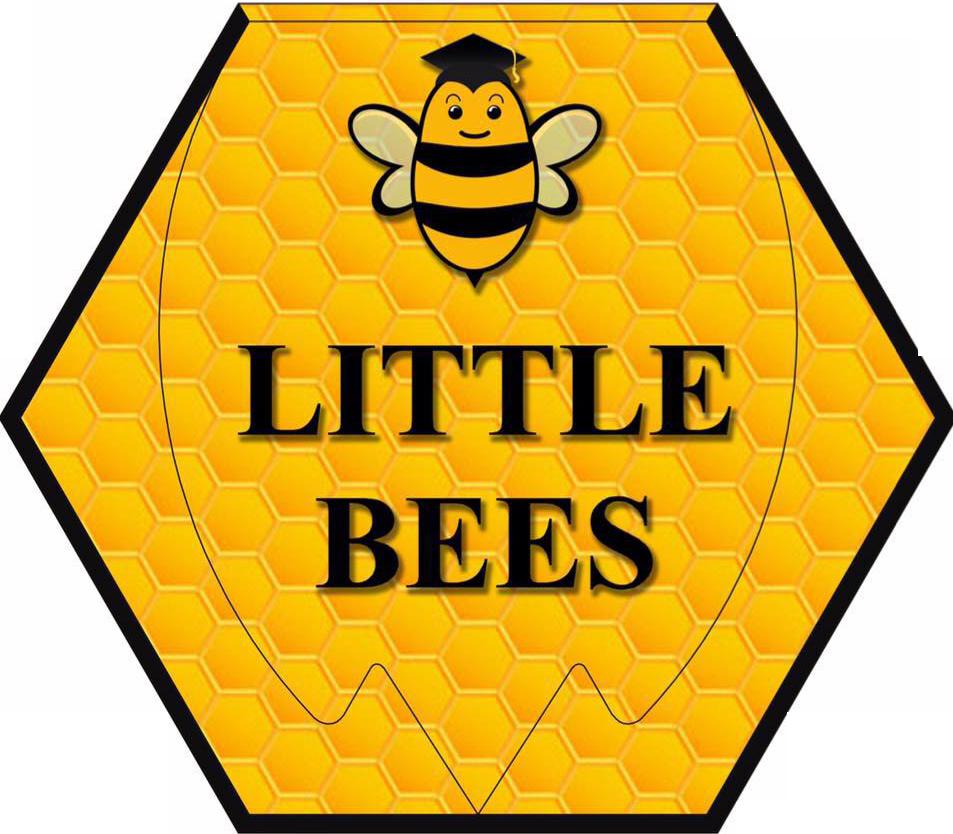 Logo trường mầm non Little Bees - Những chú ong nhỏ tại quận Cầu Giấy, Hà Nội (Ảnh: website trường)