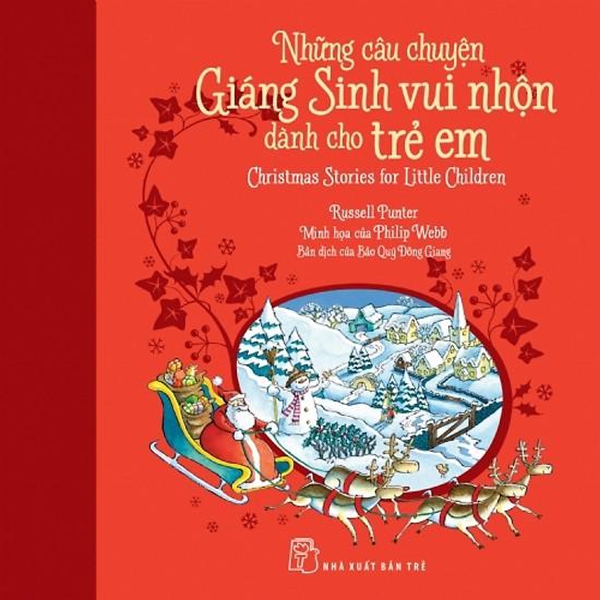 Sách Giáng sinh siêu đáng yêu cho bé (Ảnh: Tiki)