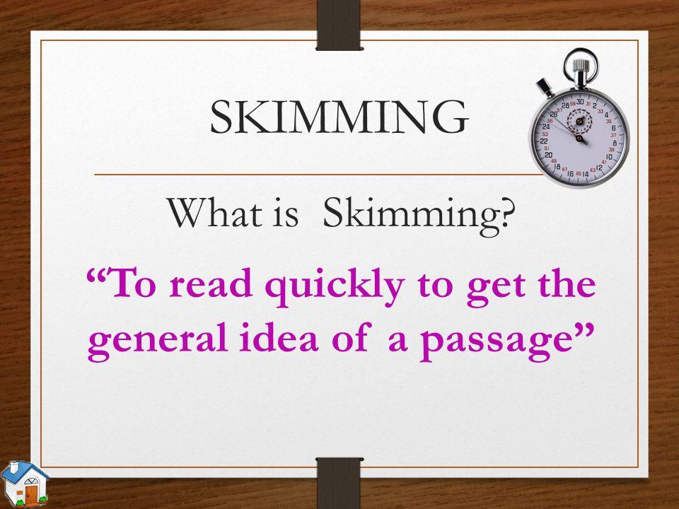 Skimming, Scanning: 2 kỹ năng đọc hiểu quan trọng khi học tiếng Anh (Ảnh: SlidePlayer)