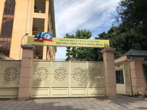 Phạm Hồng Thái - THPT công lập quận Ba Đình - Hà Nội (Ảnh: Báo Đất Việt)