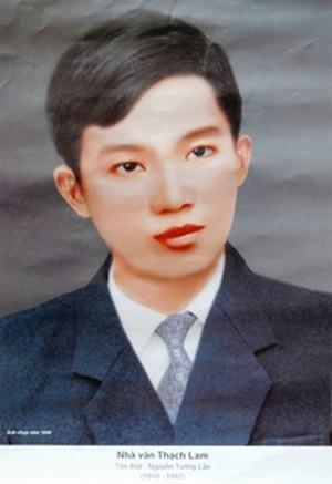 Nhà văn Thạch Lam hồi trẻ (Ảnh: Tạp chí Sông Hương)