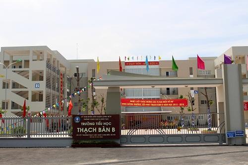 Thạch Bàn B - Tiểu học công lập quận Long Biên - Hà Nội (Ảnh: Phường Thạch Bàn - UBND quận Long Biên)
