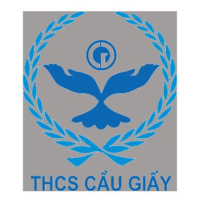 Logo trường THCS Cầu Giấy, trường công lập chất lượng cao quận Cầu Giấy, Hà Nội (Ảnh: website nhà trường)