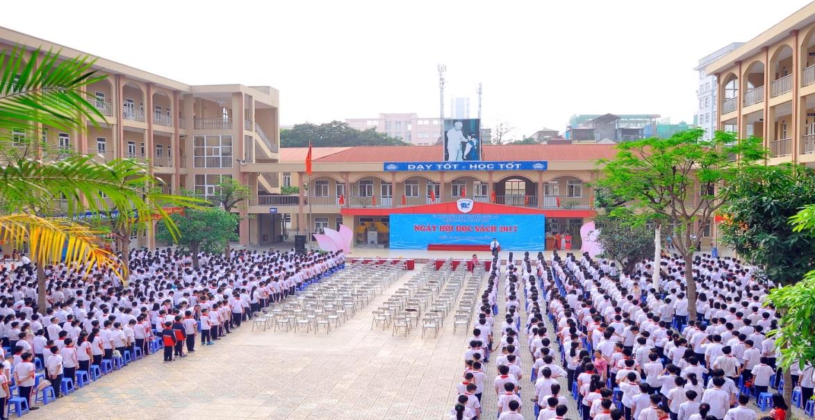 Trường THCS công lập quận Cầu Giấy Lê Quý Đôn (Ảnh: Website nhà trường).
