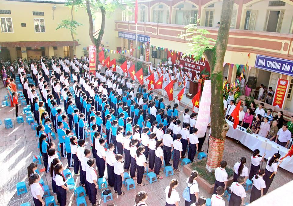 Phúc Xá - THCS công lập quận Ba Đình - Hà Nội (Ảnh: website nhà trường)