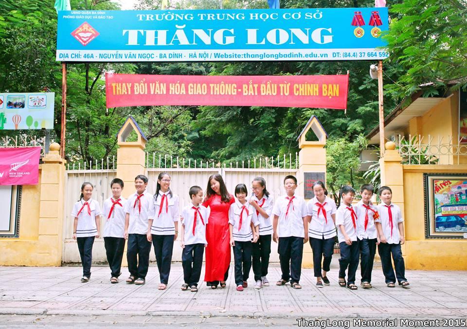 Thăng Long - THCS công lập quận Ba Đình - Hà Nội (Ảnh: Thiếu Niên)