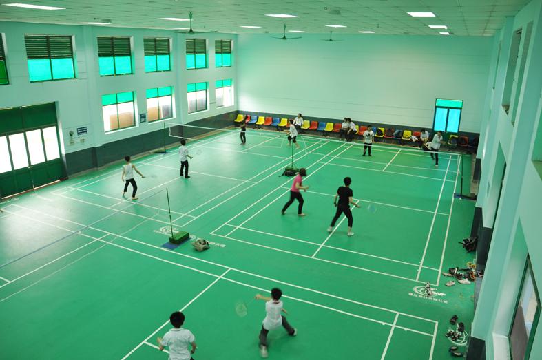 Cơ sở vật chất trường THCS - THPT Lý Thái Tổ, Cầu Giấy, Hà Nội (Ảnh: website nhà trường)