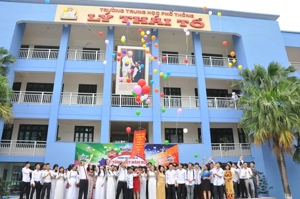 Cơ sở vật chất trường Lý Thái Tổ, cấp THCS, THPT, quận Cầu Giấy, Hà Nội (Ảnh: website nhà trường)