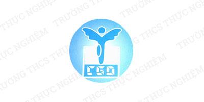 Logo trường Thực Nghiệm (Ảnh: website nhà trường)