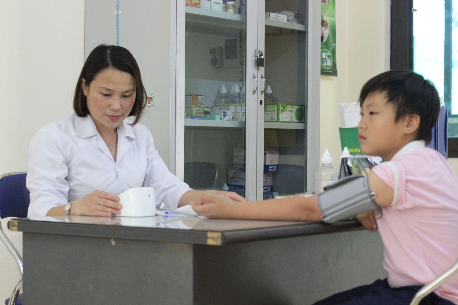 Cơ sở vật chất Trường Tiểu học Lômônôxốp, quận Nam Từ Liêm, Hà Nội (Ảnh: website trường)