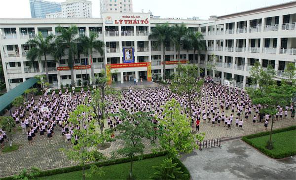 Cơ sở vật chất trường Tiểu học Lý Thái Tổ