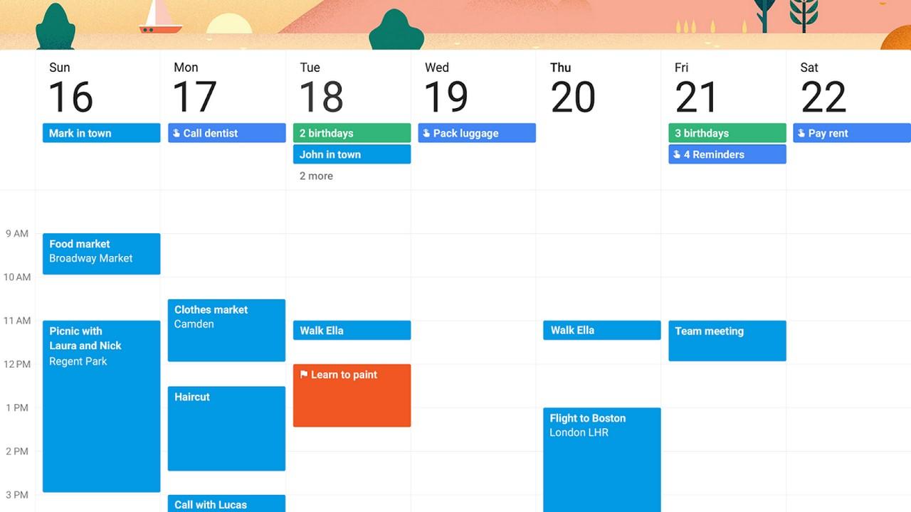7 công cụ lịch online giúp quản lý thời gian gia đình (Ảnh: TRAINGHIEMSO.VN)