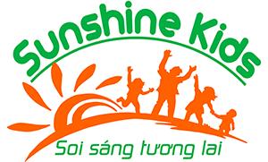 Logo trường mầm non Sunshine Kids - Tia nắng mặt trời tại quận Nam Từ Liêm - Hà Nội (Ảnh: website trường)