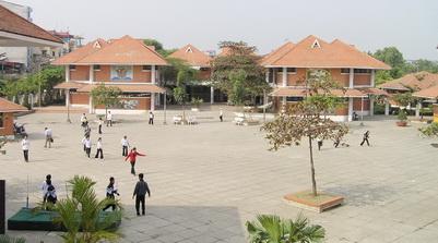Cơ sở vật chất trường Hermann Gmeiner, Cầu Giấy, Hà Nội (Ảnh: website nhà trường)