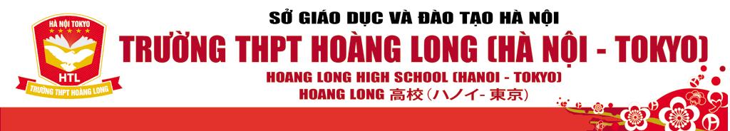 Logo trường THPT Hoàng Long - Hà Nội Tokyo, quận Ba Đình, Hà Nội (Ảnh: website trường)