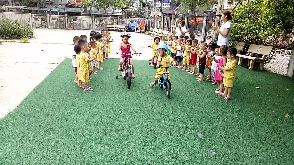 Cơ sở vật chất trường mầm non Tuổi Thần Tiên Hà Đông, Hà Nội (Ảnh: website trường)