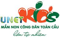 Logo trường mầm non Công dân toàn cầu Unetkids, quận Thanh Xuân (Hà Nội)