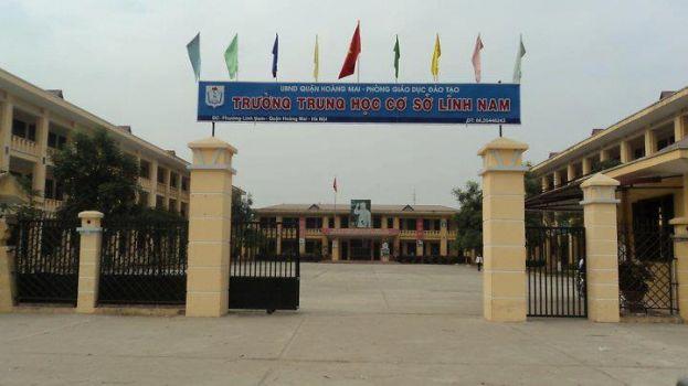 Lĩnh Nam - Trường THCS công lập quận Hoàng Mai - Hà Nội (Ảnh: Vinalo)