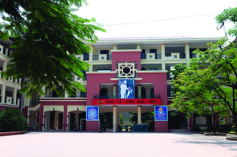 Hà Huy Tập - Trường THCS công lập quận Hai Bà Trưng, Hà Nội (Ảnh: Vinalo)