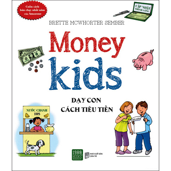 Một trong những cuốn sách cần phải có nếu bạn muốn dạy con về tiền bởi nó giúp trẻ tìm hiểu về tiền và cách sử dụng tiền, đồng thời giúp trẻ hiểu được cách thức hoạt động của các ngân hàng cũng như cách sử dụng các loại thẻ tín dụng.