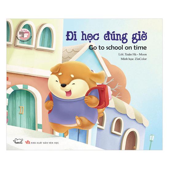 Sách tiếng Việt dạy trẻ đúng giờ (Ảnh: Tiki)