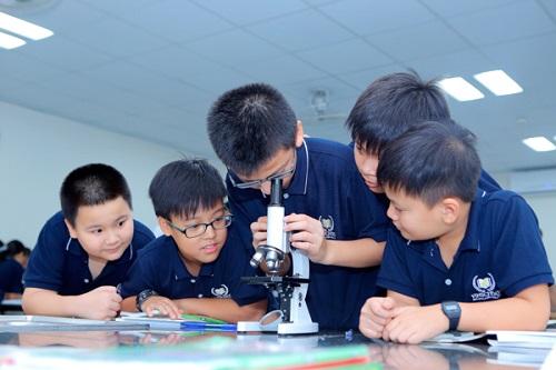 Cơ sở vật chất trường Trung học Vinschool (Ảnh: website nhà trường)