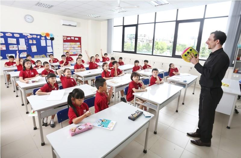 Cơ sở vật chất trường Tiểu học Vinschool (Ảnh: website nhà trường)
