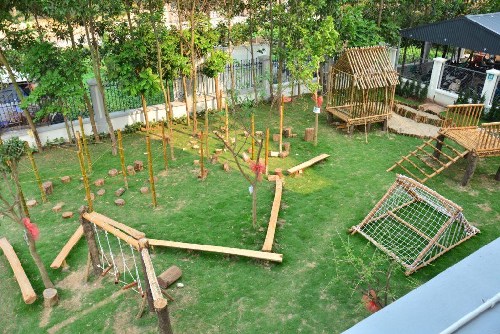 Cơ sở vật chất trường Liên cấp Tây Hà Nội, quận Bắc Từ Liêm, Hà Nội (Ảnh: website nhà trường)